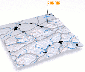 3d view of Równia