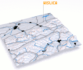 3d view of Wiślica