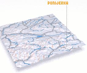 3d view of Ponijerka