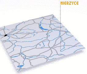 3d view of Mierzyce
