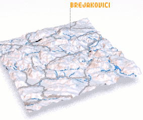 3d view of Brejakovići