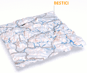 3d view of Nestići