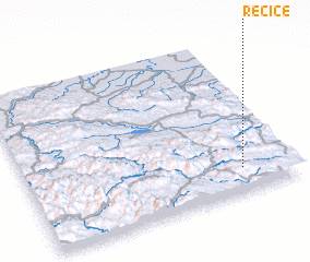 3d view of Rečice