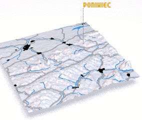 3d view of Poniwiec