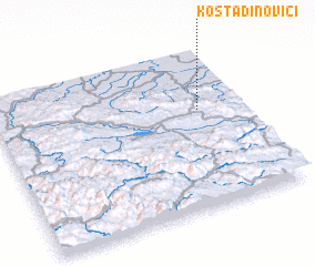 3d view of Kostadinovići