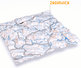 3d view of Zagunjica