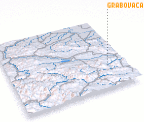 3d view of Grabovača