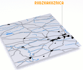3d view of Rudzka Kuźnica