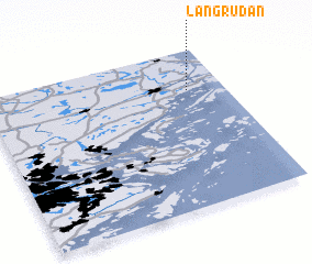 3d view of Långrudan