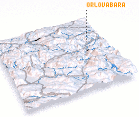 3d view of Orlova Bara