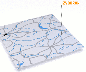 3d view of Izydorów