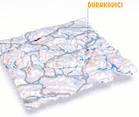 3d view of Durakovići
