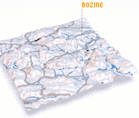 3d view of Božine