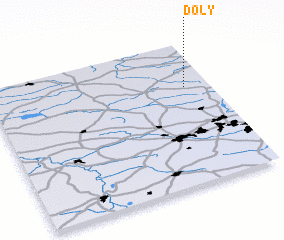 3d view of Doły