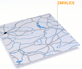 3d view of Zapolice
