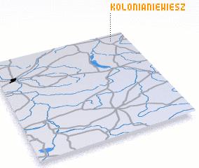 3d view of Kolonia Niewiesz