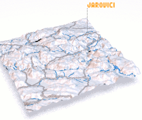 3d view of Jarovići
