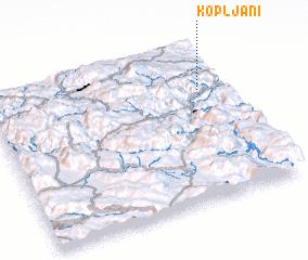3d view of Kopljani