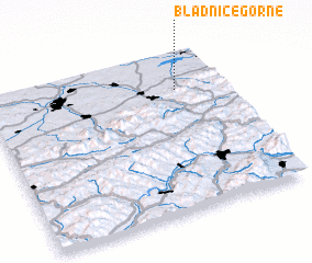 3d view of Bładnice Górne