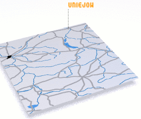 3d view of Uniejów