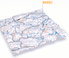 3d view of Kušići