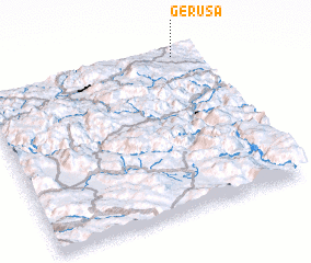 3d view of Geruša