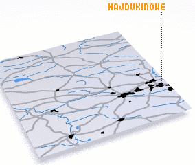 3d view of Hajduki Nowe