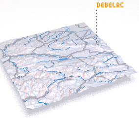 3d view of Debelac