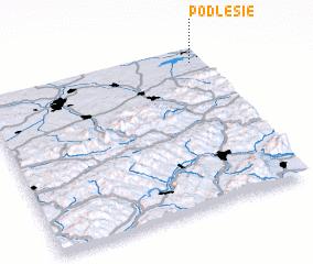 3d view of Podlesie