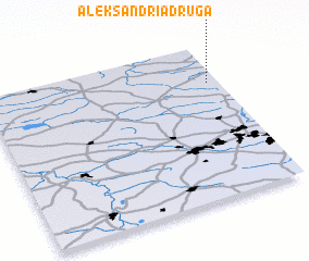 3d view of Aleksandria Druga