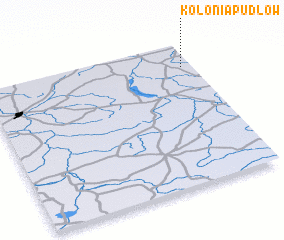 3d view of Kolonia Pudłów