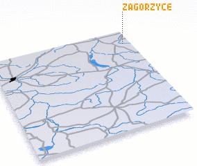 3d view of Zagórzyce