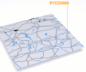 3d view of Pyszkowo