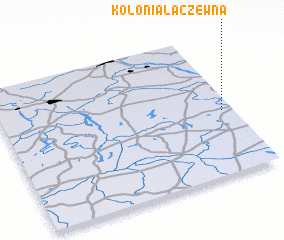 3d view of Kolonia Łaczewna