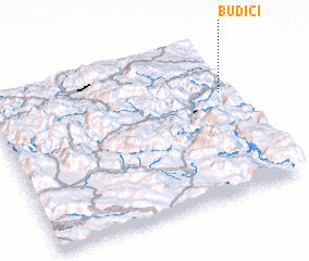 3d view of Budići