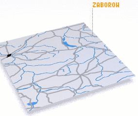 3d view of Zaborów