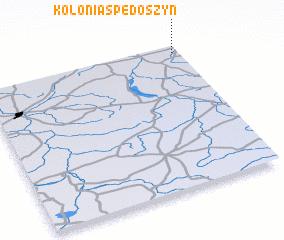 3d view of Kolonia Spędoszyn