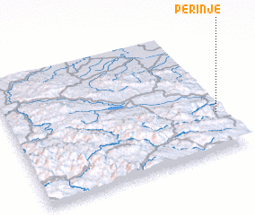 3d view of Perinje