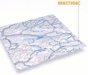 3d view of Hrastovac