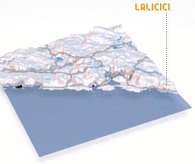 3d view of Laličići