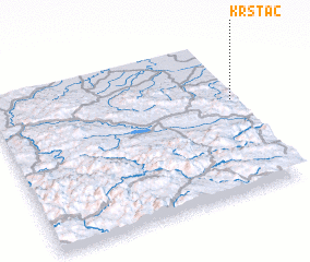 3d view of Krstac