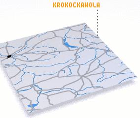 3d view of Krokocka Wola
