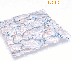 3d view of Budišići