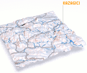 3d view of Kazagići