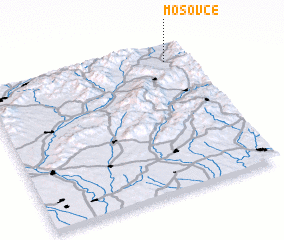 3d view of Mošovce