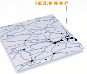 3d view of Radzionków Nowy