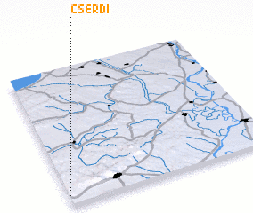 3d view of Cserdi