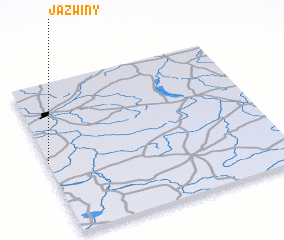 3d view of Jaźwiny