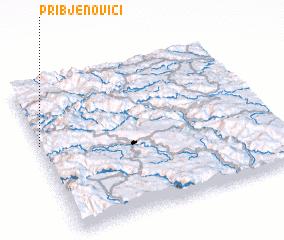 3d view of Pribjenovići