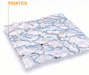 3d view of Rogatica